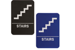 """ADA108_208 - Stairs ADA Compliant Sign, 6"""" x 9"""""""